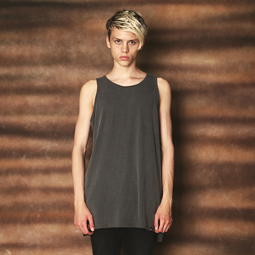 DS-019 PIGMENT WASHING SLEEVELESS