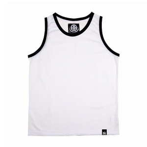 DS-001 -MECH JERSEY WHITE-